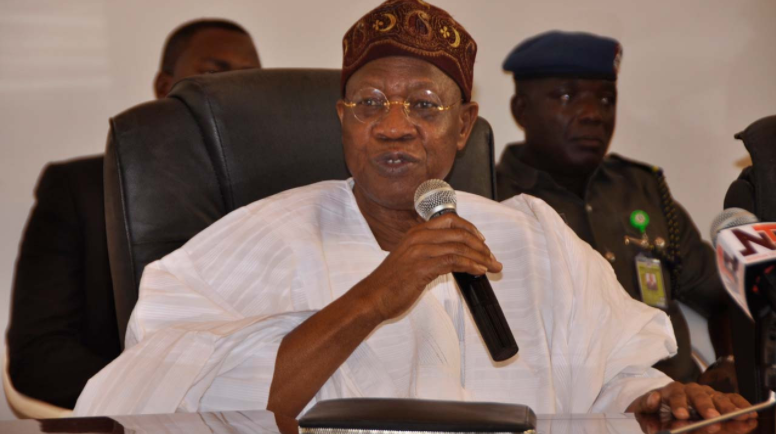 We are denied weapons, Nigeria will remains at terrorists' mercy - Lai Mohammed