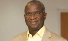The Minister of Works and Housing, Babatunde Fashola