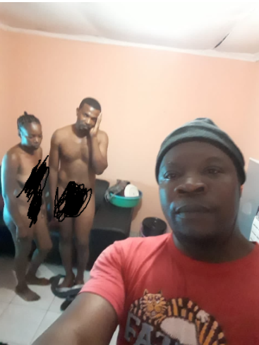 Man who caught his wife sleeping with his friend in their home takes a selfie for his in-laws
