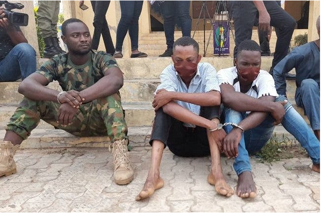 serving soldier arrested for armed robbery in Ondo