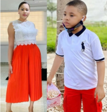Lotanna, the first son of former Aviation Minister, Femi Fani-Kayode and his estranged wife, Precious