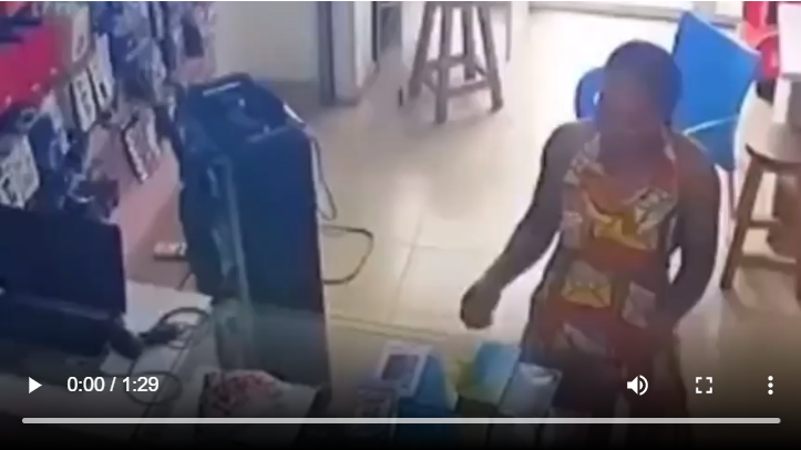 Woman who stole phone